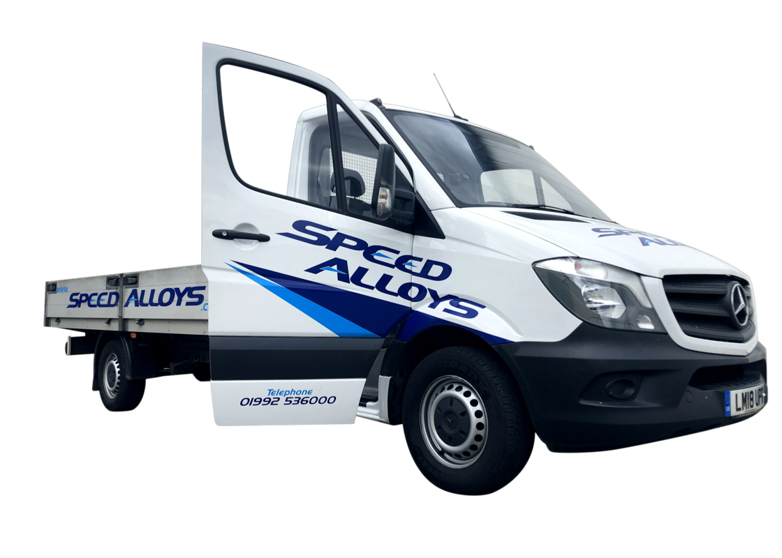 Speed Alloys van