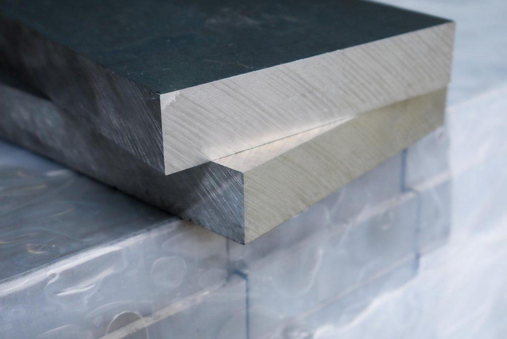 Aluminium sawn plate